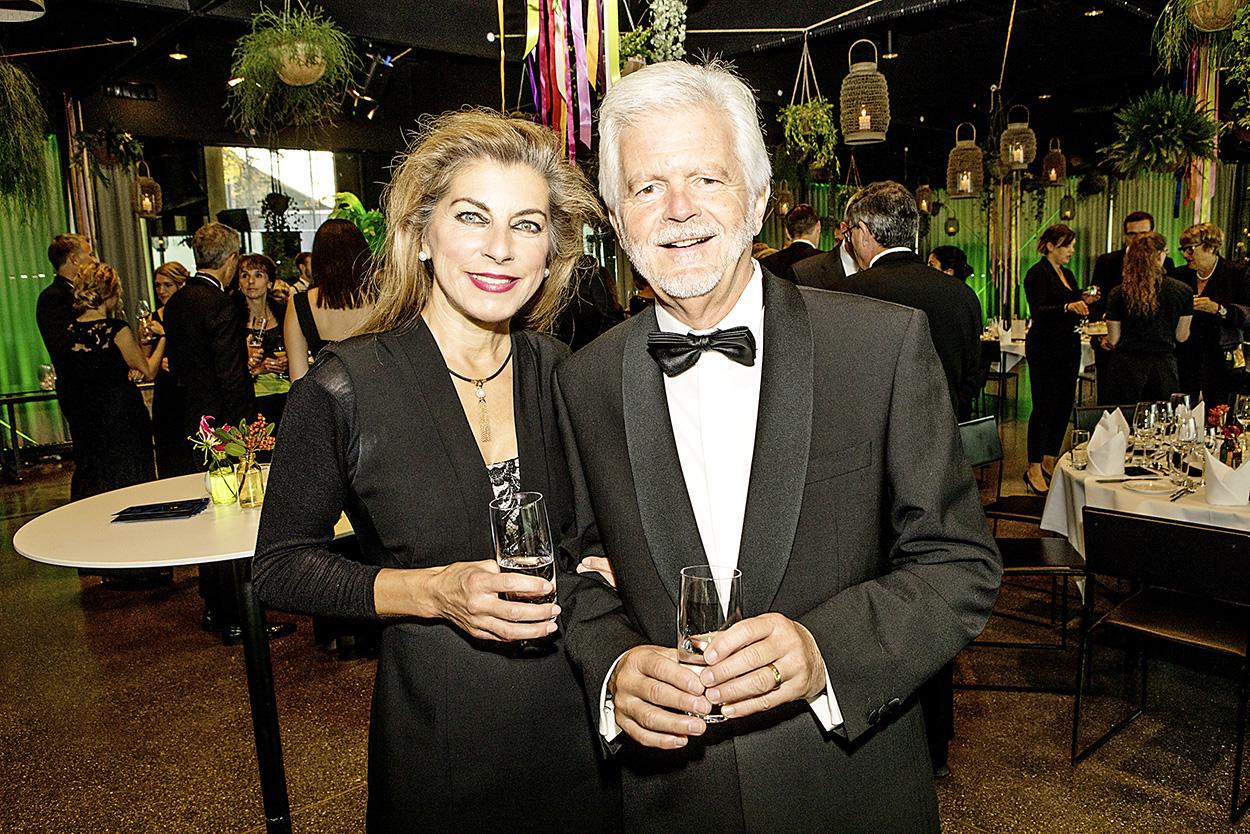 Martin Heiniger (Family Office Von Graffenried) mit Ehefrau Manuela Mejia
