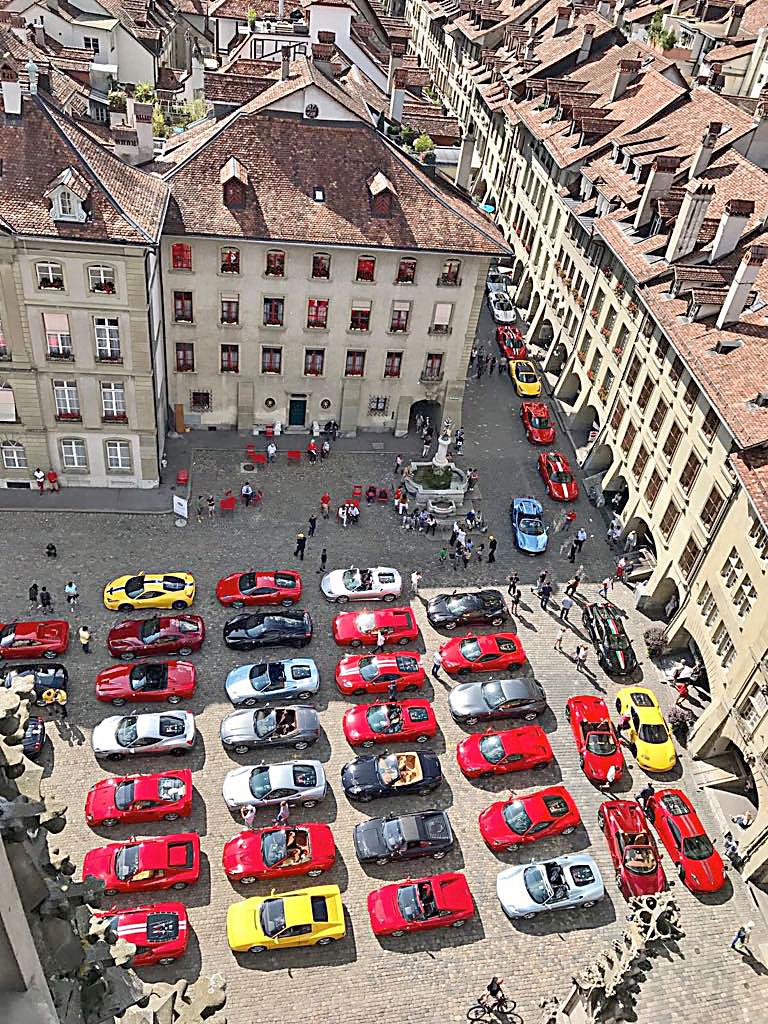 Heisse Boliden in Aarberg und in Bern