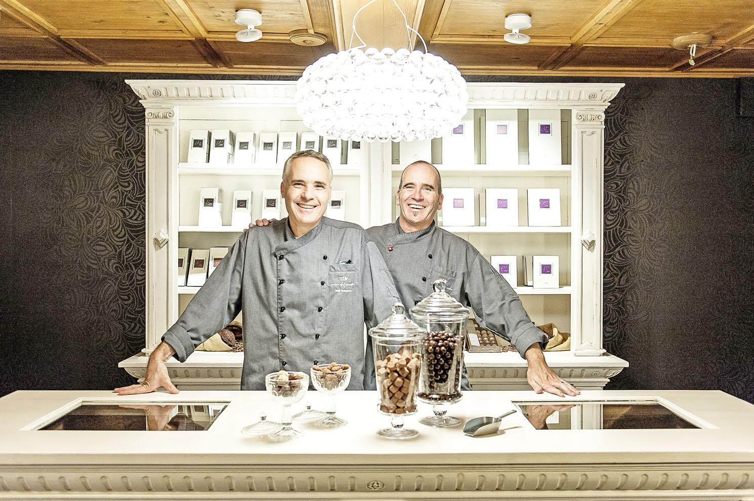 Bester Chocolatier der Schweiz bis Ende August bei Loeb in Bern