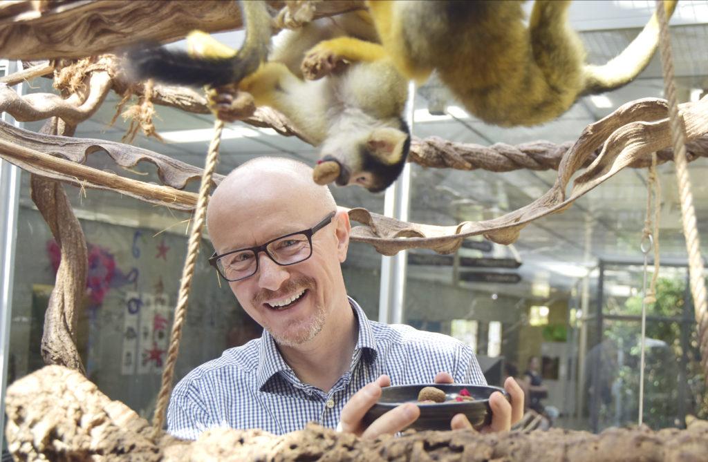 Sergio Zanelli im Tierpark Bern