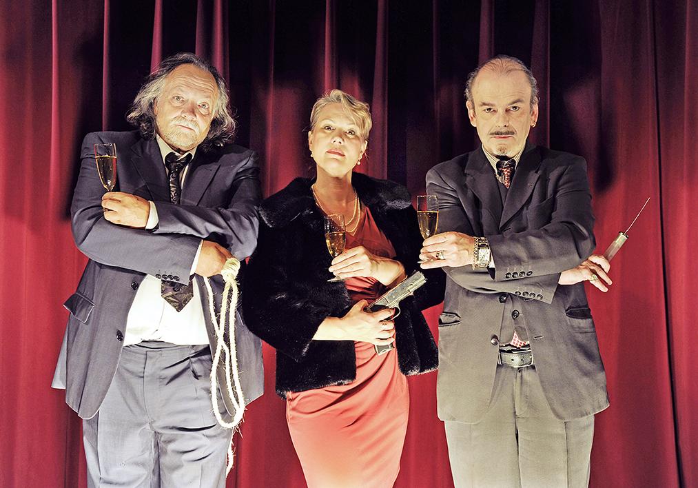 «Mörderkarussell» ist eine Theater-Komödie auf hohem Niveau.