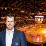 SCB Sportchef, Alex Chatelain, in der PostFinance Arena, Bärnerbär