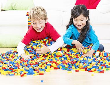 Kinder Lego Steine 4