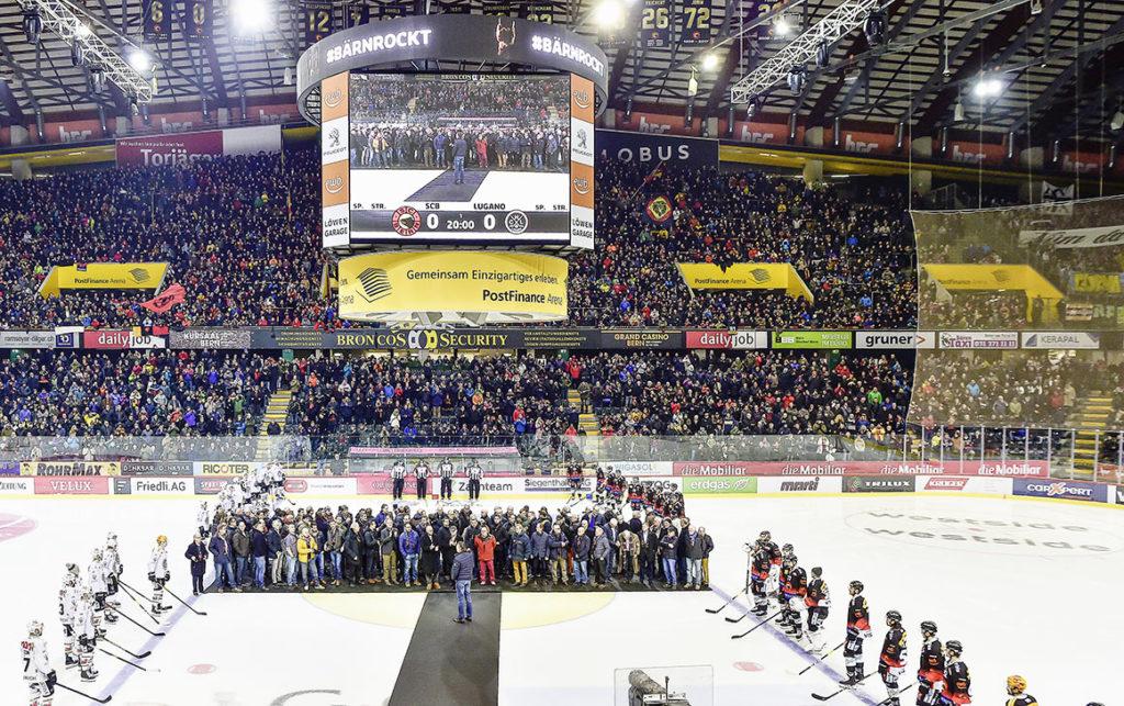 SCB Meisterehrung, SC Bern - HC Lugano, National League