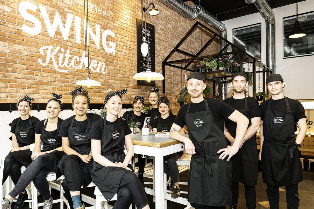 Das Swing Kitchen Team Bern