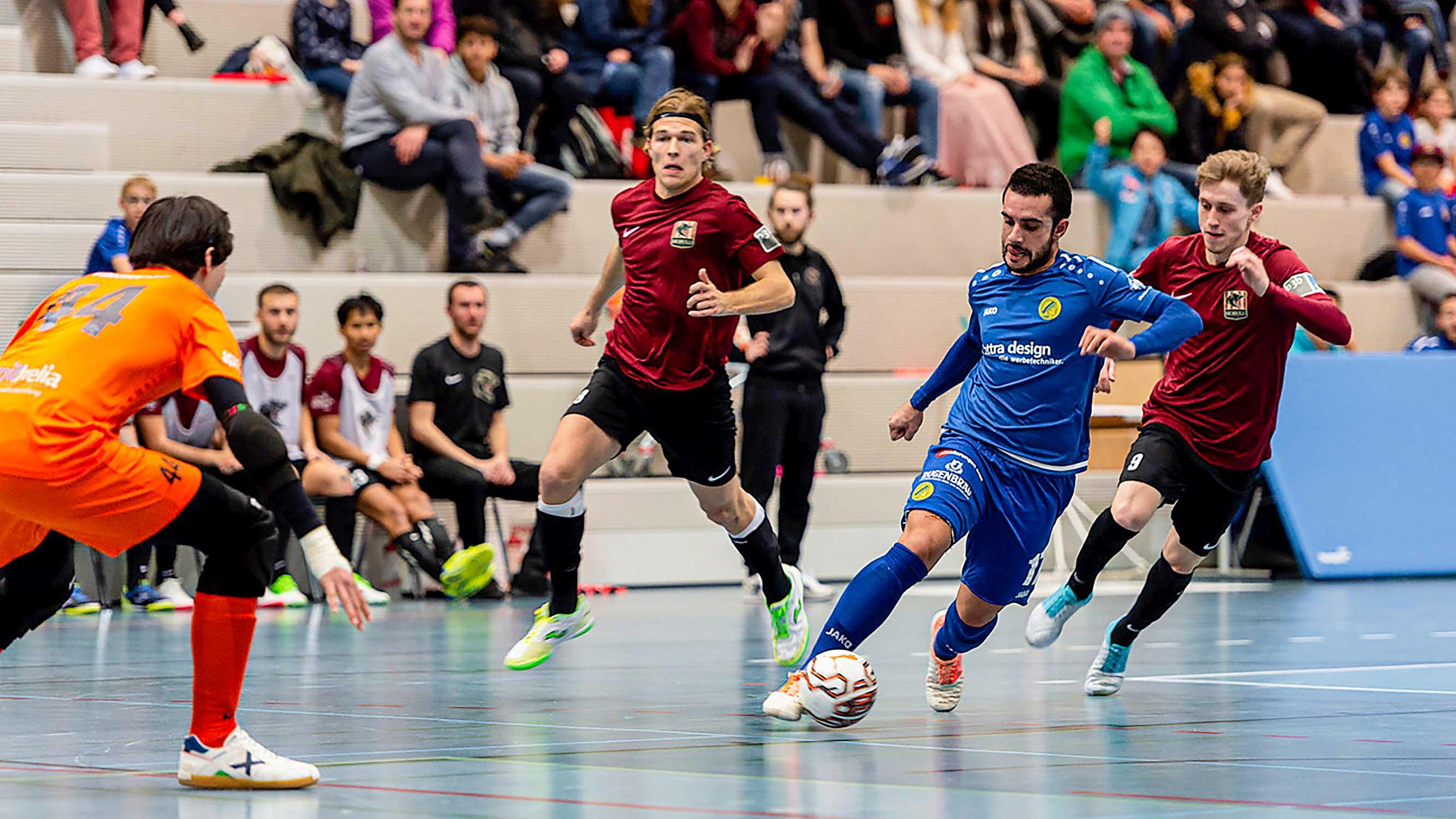 Eigentlich hat Futsal Minerva keine Chance – aber …