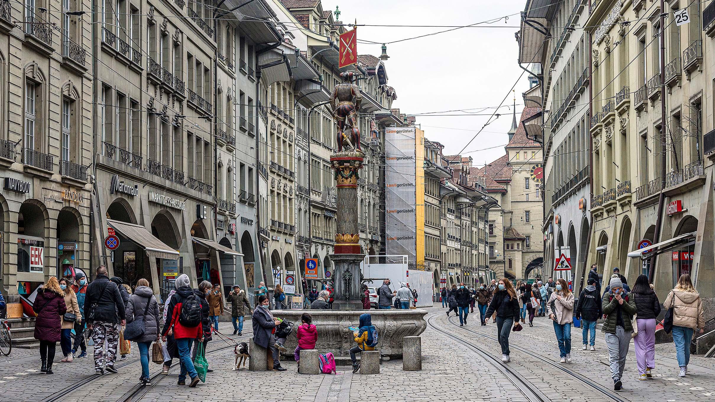 «Yes, we're open»: 14 Seiten geballtes Einkaufserlebnis in Berns Innenstadt