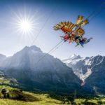 2 Grindelwald First First Glider Aufnahme Von Hinten