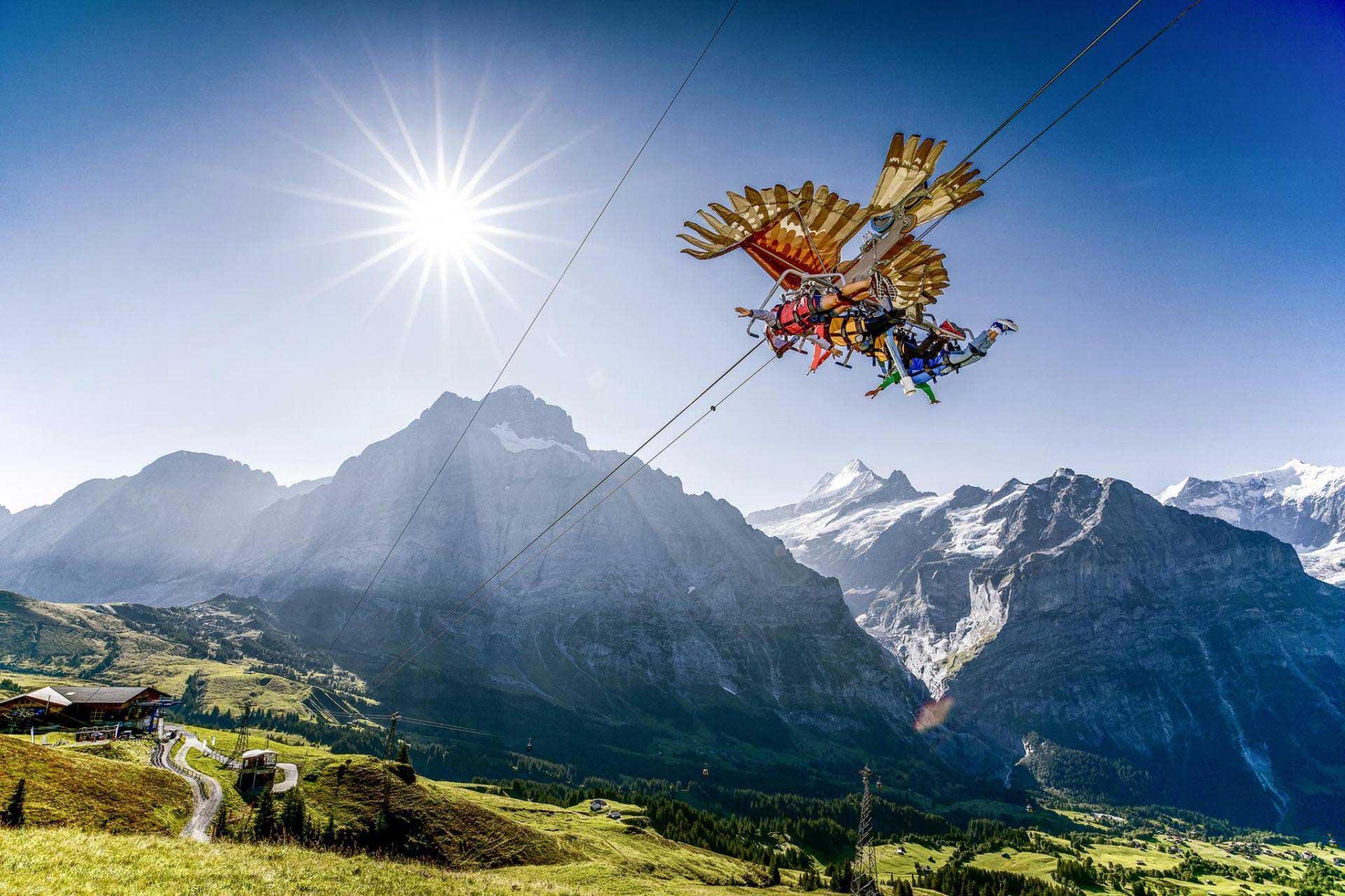 Grindelwald-First: ab 13. Mai geöffnet