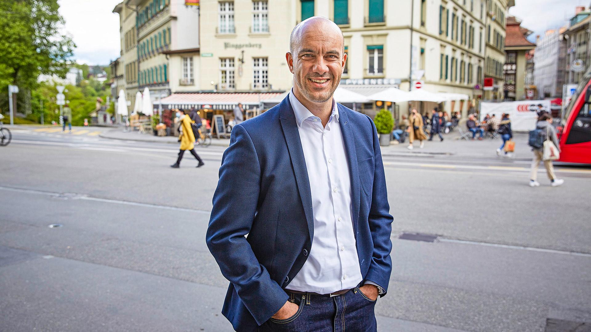 «In Bern kann der Kunde virtuell unter den Lauben flanieren»