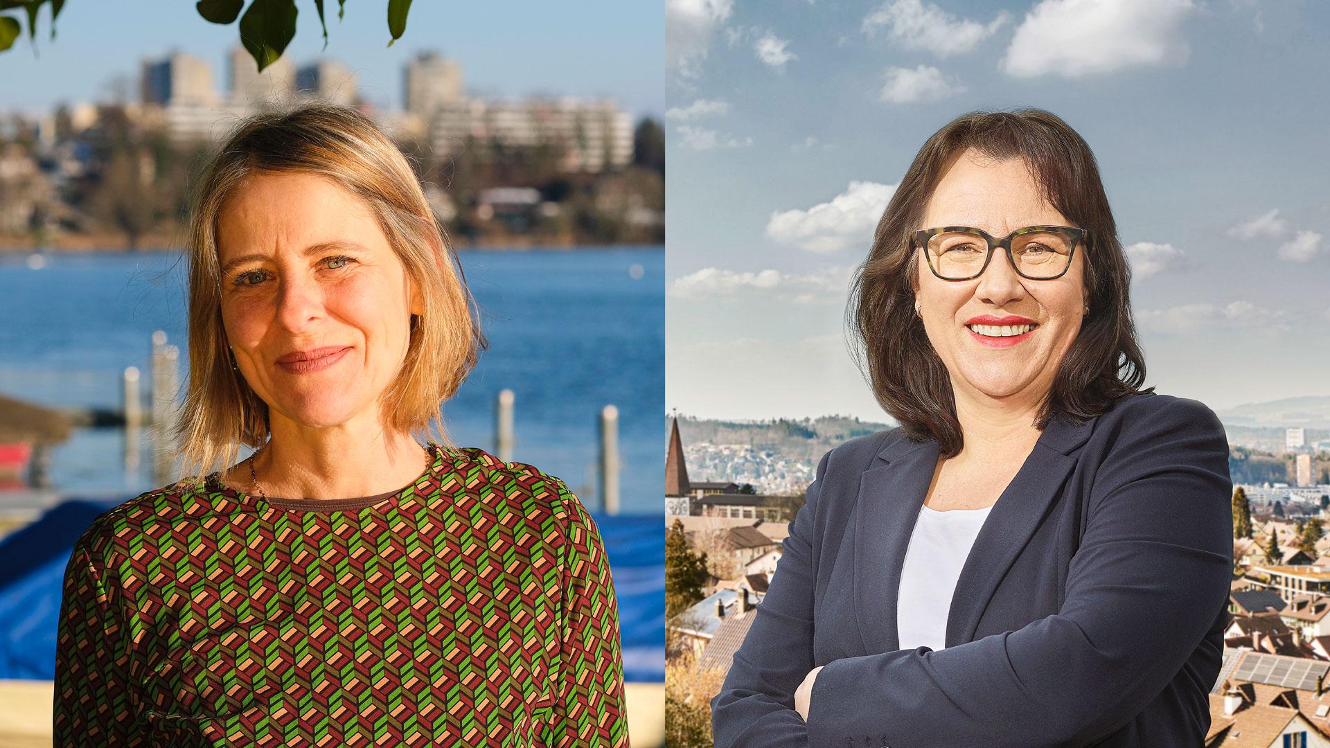 Die beiden Kandidatinnen von ihrer ganz privaten Seite