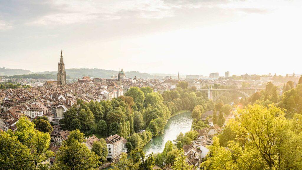 Bern Aussicht C Schweiz Tourismus