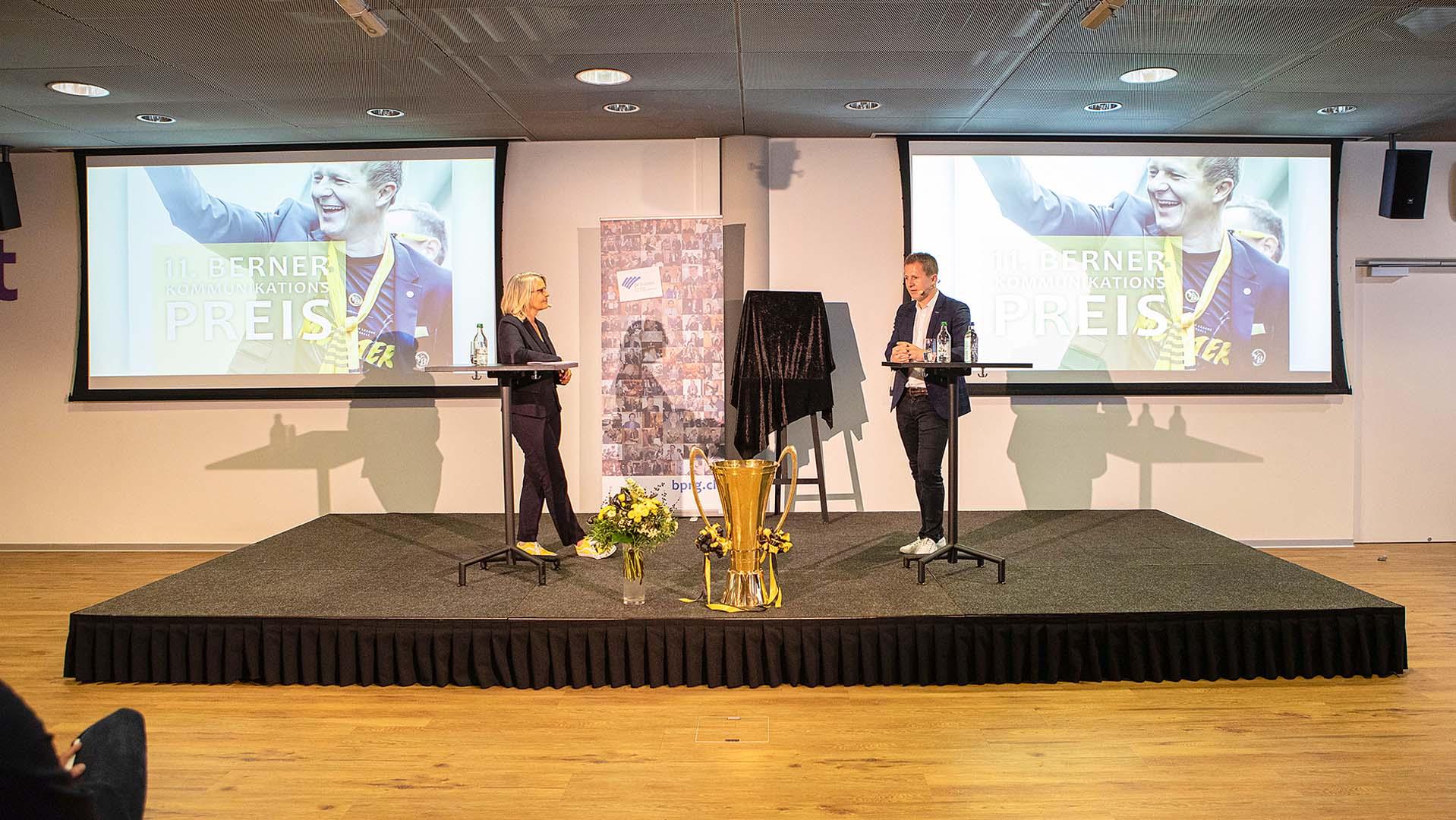 YB-Sportchef Christoph Spycher geehrt