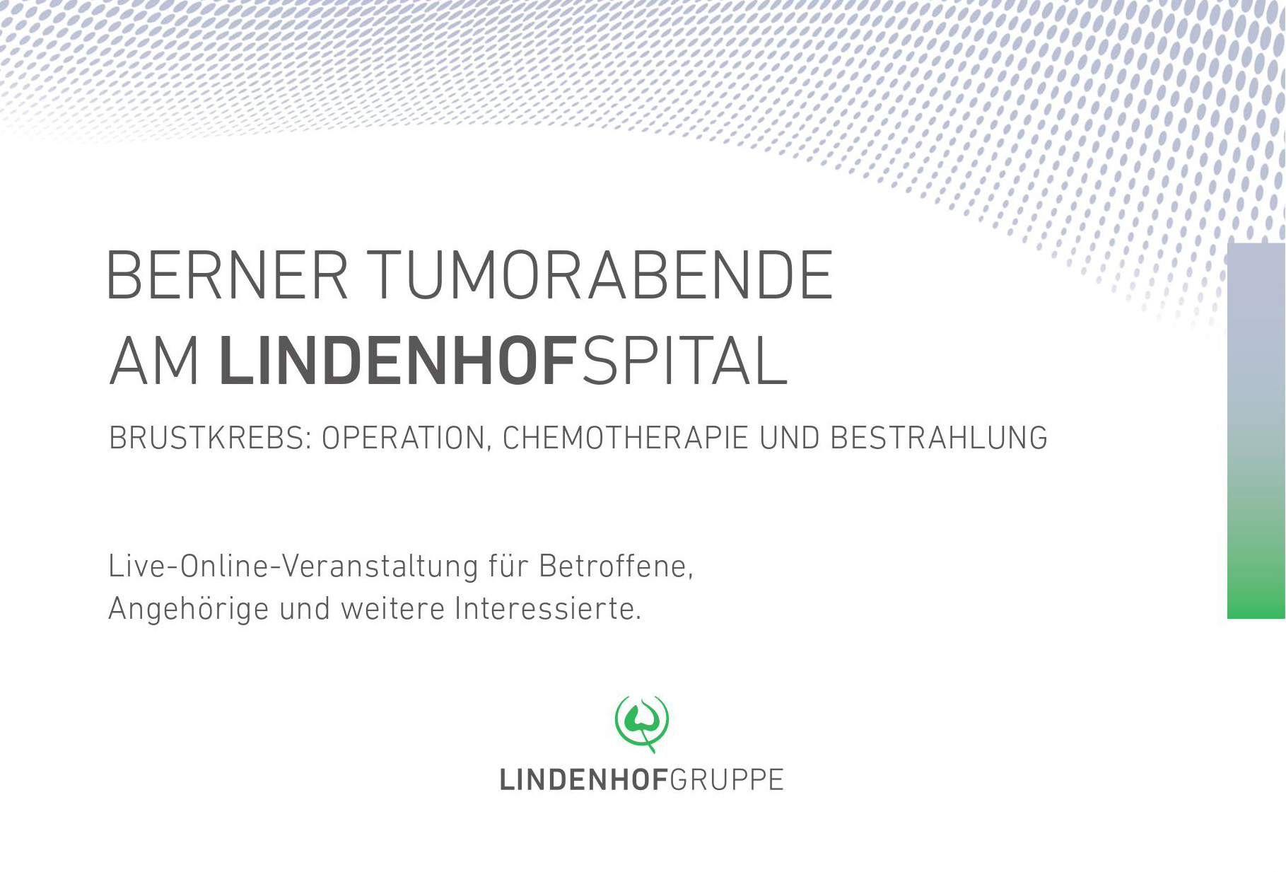 Berner Tumorabende am Lindenhofspital
