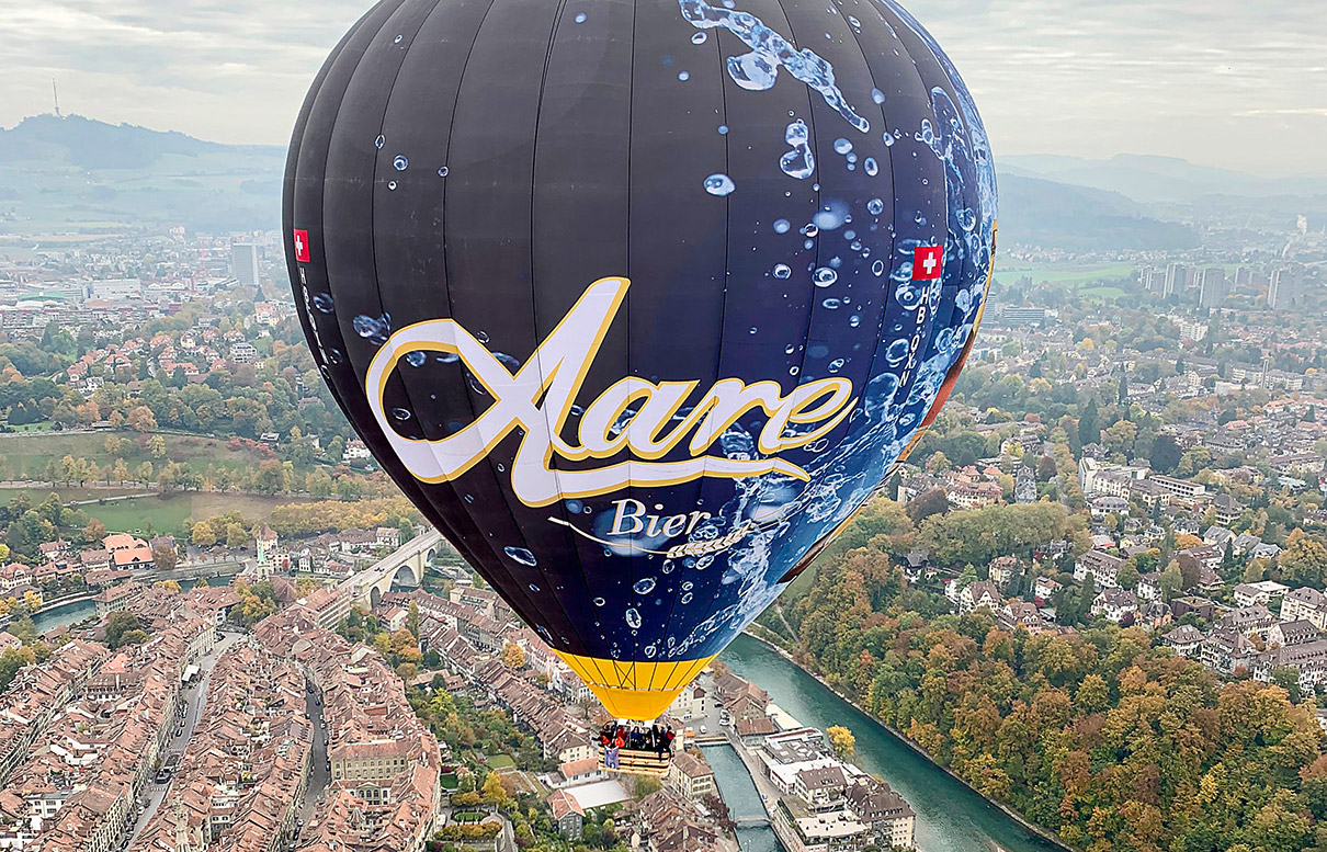 Panoramafahrt Bern mit dem Ballon