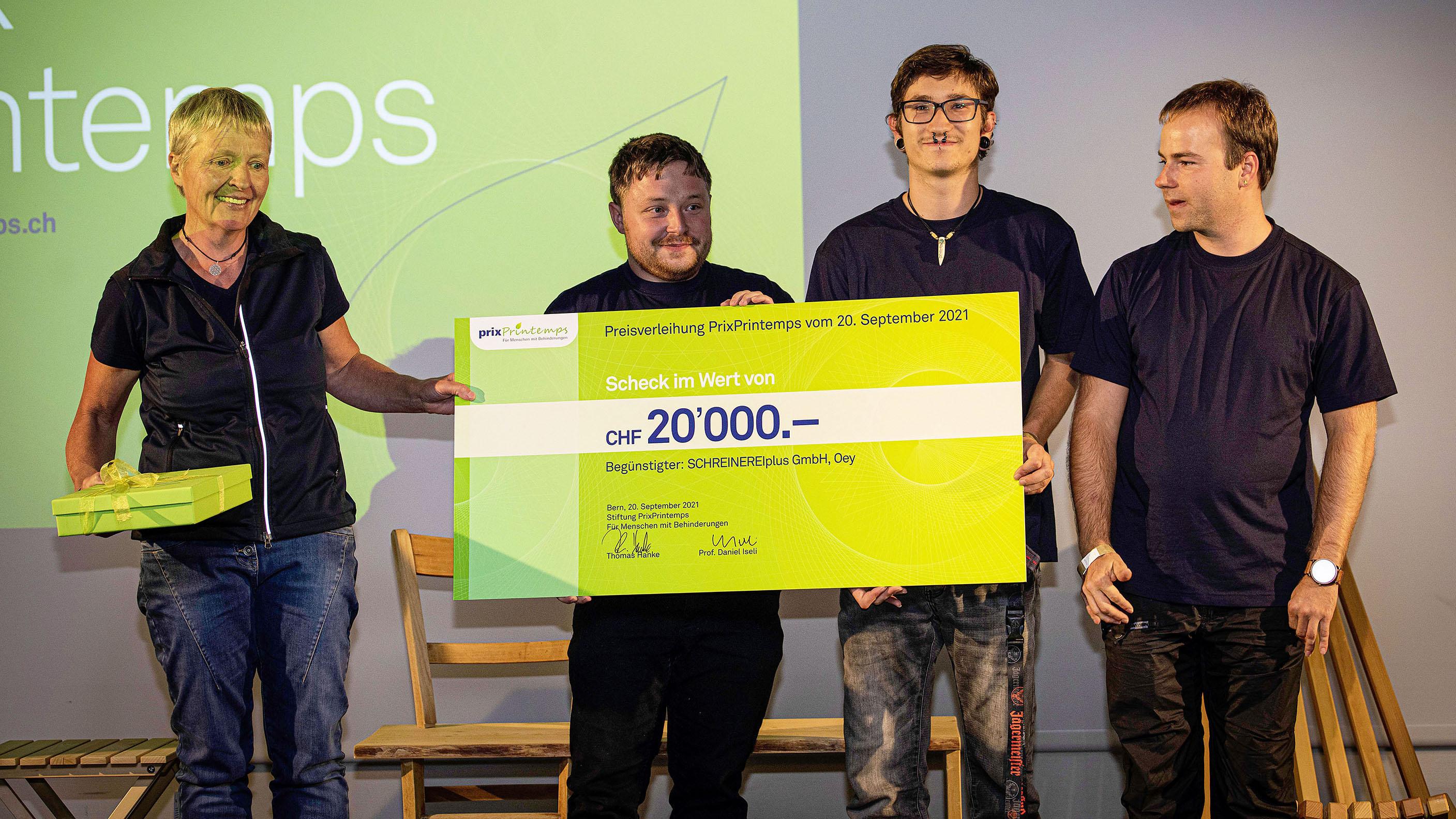 Auszeichnungen für soziales Engagement